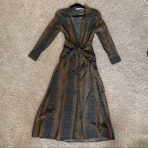 Maxi Croc Dress